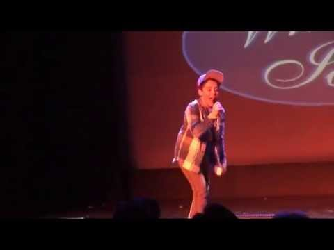 Jacob Ewaniuk singing Chasing The Sun by The Wanted at Whitby Idol 2013