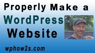 WordPress Tutorial for Beginners | Twenty Fourteen Theme | Properly Make a Website with WordPress