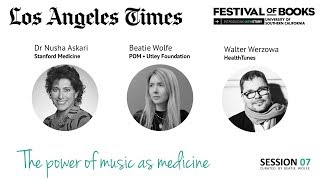 LA Times NewStory Fesitival 2018 - Beatie Wolfe - The Power of Music & Dementia