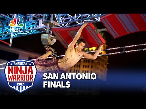 Thomas Stillings at the San Antonio City Finals - American Ninja Warrior 2017