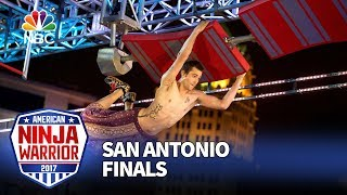 Thomas Stillings at the San Antonio City Finals - American Ninja Warrior 2017