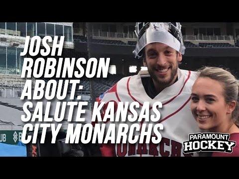 Paramount Hockey - Josh Robinson About: Missouri Mavericks Salute the Kansas City Monarchs