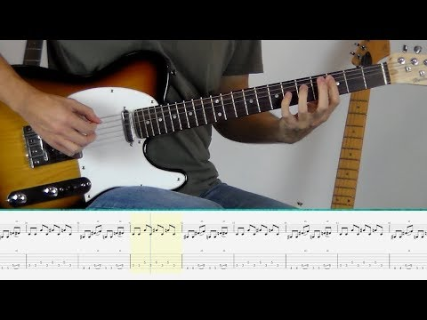 Marilyn Manson - Sweet Dreams (Guitar Tutorial)