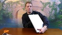 Uuden kannettavan tietokoneen unboxing ja esittely