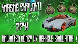 [OMFG]✅MONEY ROBLOX HACK/EXPLOIT!✅|774!|UNLIMITED MONEY ON VEHICLE SIMULATOR W/LUA C(NOT CLICKBAIT!)