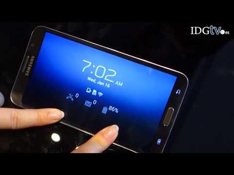Samsung Galaxy Round, primer contacto