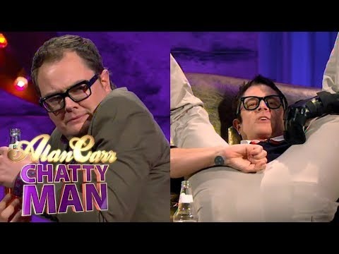 Johnny Knoxville Broke His Little Johnny While Motorcycling Full   Alan Carr Chatty Man