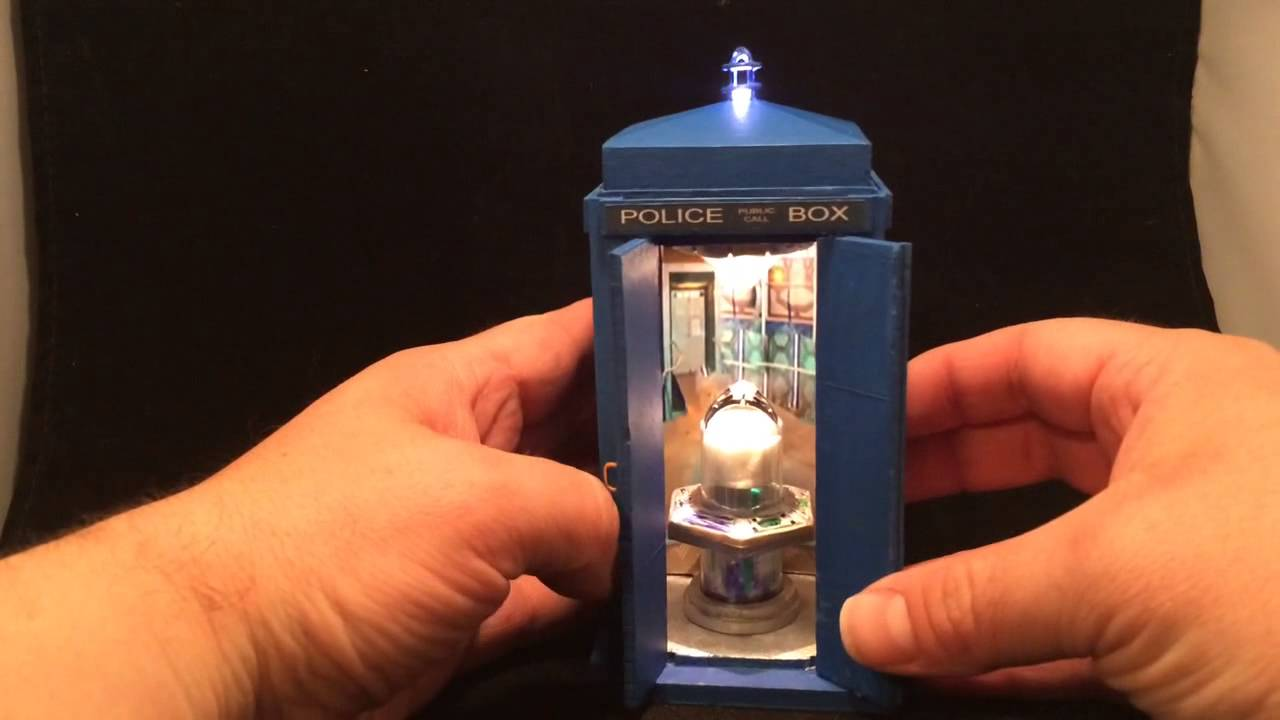 Interior TARDIS custom engagement ring box walkthrough by P YouTube