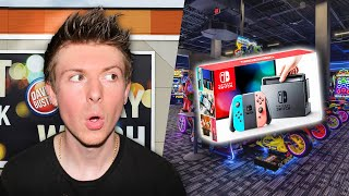 What's NEW at Dave & Busters Arcade? (Quest for the Nintendo Switch!)