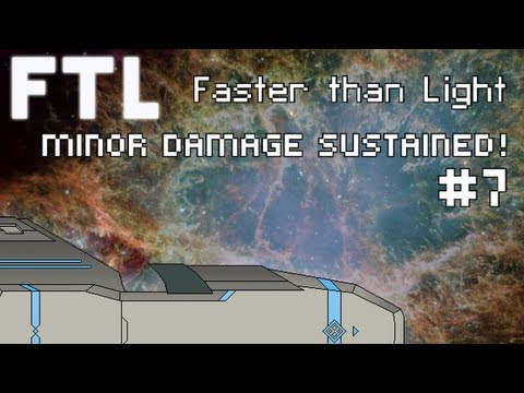Let's Play Gameplay - FTL Mods #7: Minor Damage Sustained!