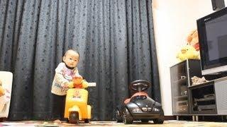 2012/11/25 【Y:1歳1ヶ月/R:3歳5ヶ月】 田舎のヤンキー(笑)
