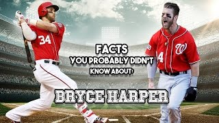 Bryce Harper: 20 Facts You Probably Didn