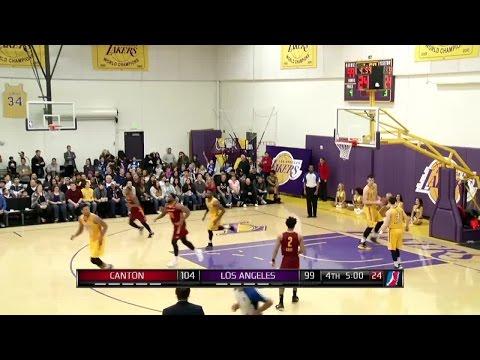 John Holland posts 14 points & 9 rebounds vs. the D-Fenders, 1/14/2017
