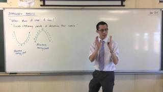 Exploring Stationary Points (1 of 3: In Depth Introduction to Stationary Points)