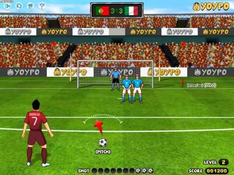 Penalty World Cup Brazil (Пенальти чемпионата мира по футболу) - прохождение игры
