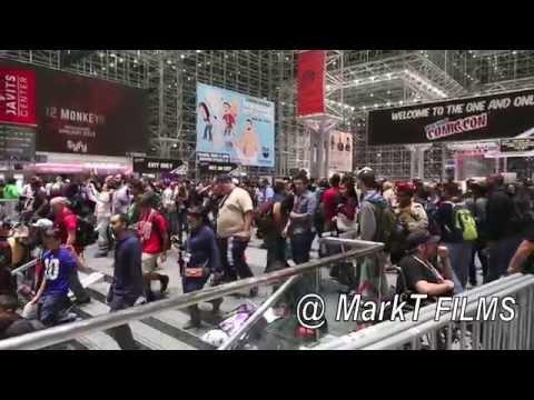 NYCC 2014 JACOB JAVITS CENTER FRIDAY DAY 2