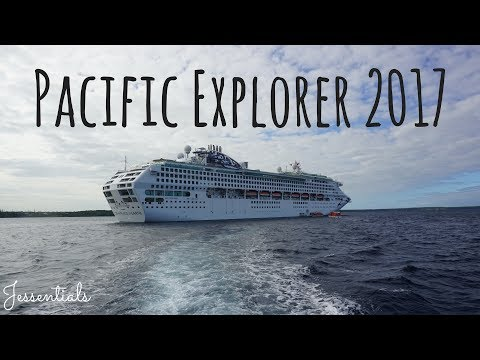 Pacific Explorer 2017 // Cruise Vlog