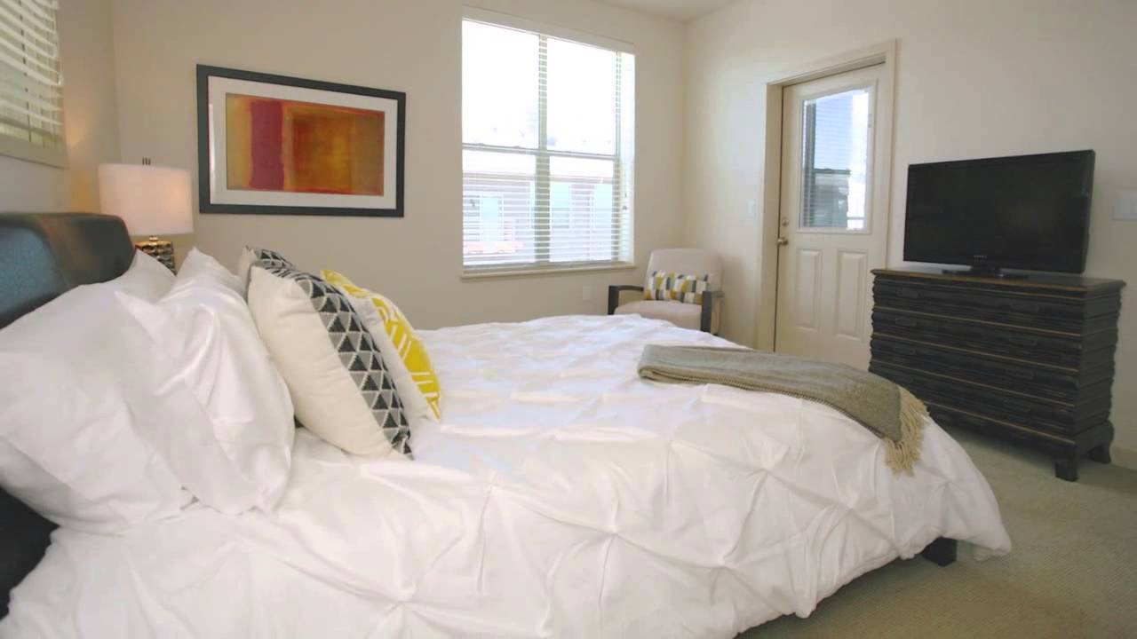 Capitol Yards Model Apartment Furnished By Brook Furniture Rental