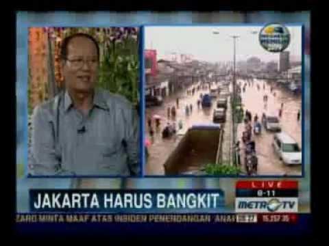 Penyebab Banjir Jakarta 2013