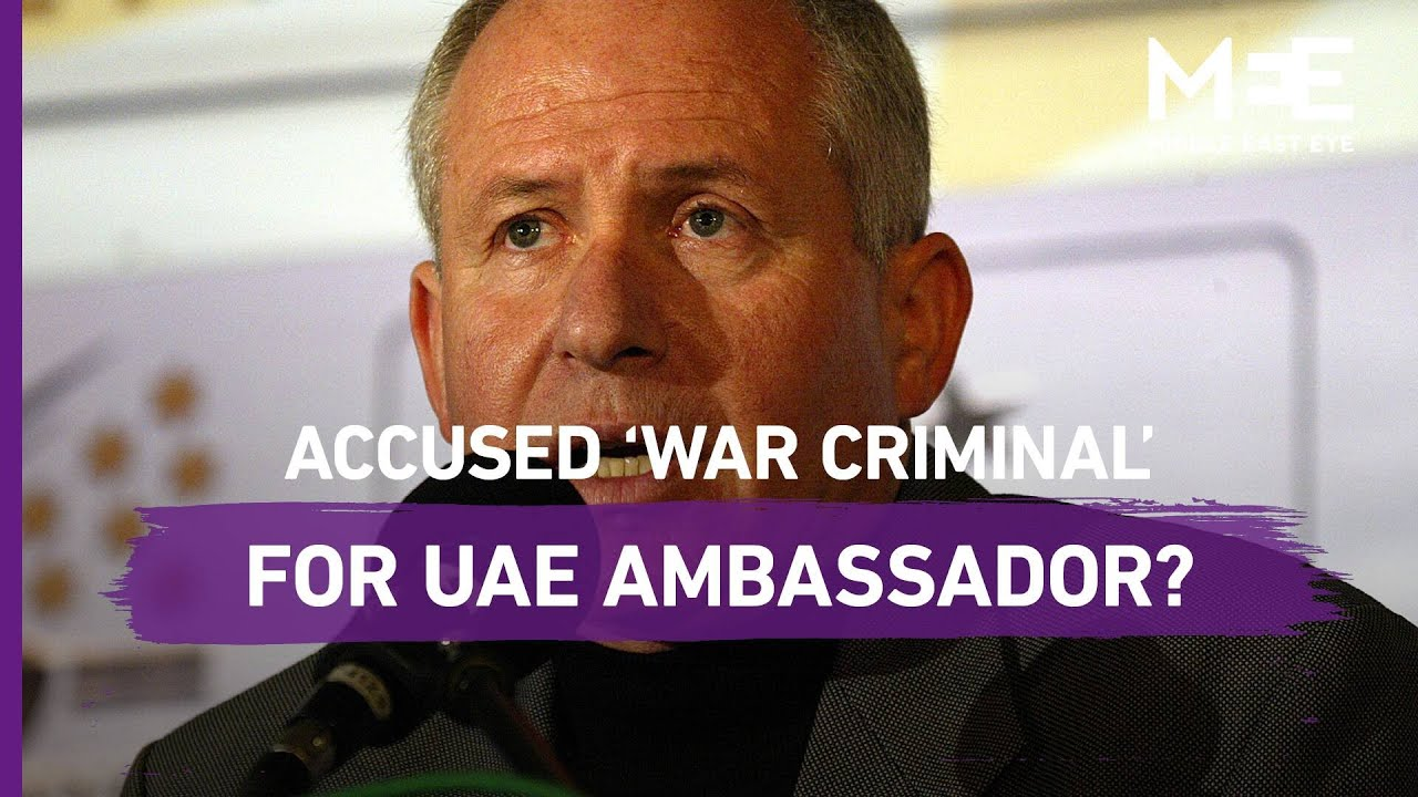 Could an accused 'war criminal' become Israel's ambassador to the UAE?