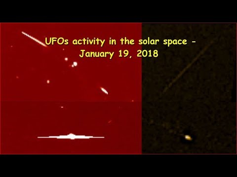 nouvel ordre mondial | UFOs activity in the solar space - January 19, 2018