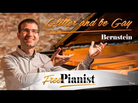 Glitter and be Gay - KARAOKE / PIANO ACCOMPANIMENT - Candide - Bernstein