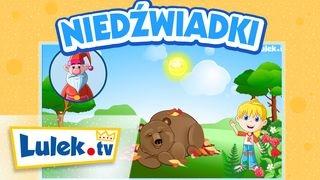 Niedźwiadki I Zwierzęta dla dzieci I Lulek.tv