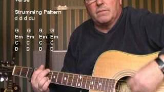 I Hope You Dance - Lee Ann Womack - Beginner Acoustic Guitar Lesson Mp3