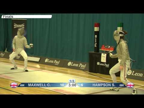 GB Championships 2016 - Women's Sabre Final