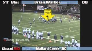 2013 brian walker mallard creek left cb preview