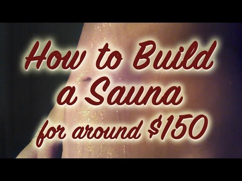 How to Build an Infrared Sauna for around $150 : Infrared Sauna Detox Pt 1