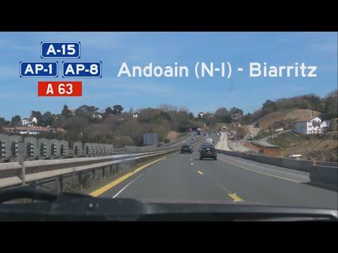 [E][F] A-15+AP-8+A63 Andoain-Biarritz