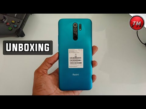 Redmi 9 Prime Unboxing । Helio G80...। Mint Green
