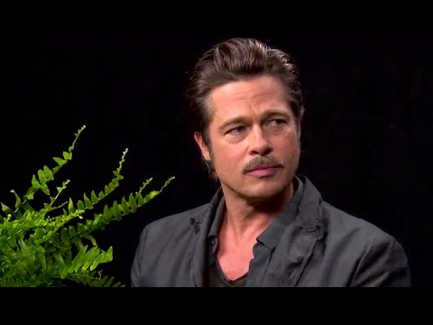 brad pitt on between two ferns whats trending now youtube