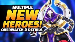 Overwatch 2 - Multiple NEW Heroes! - Endgame Details?! - Meta CHAOS!