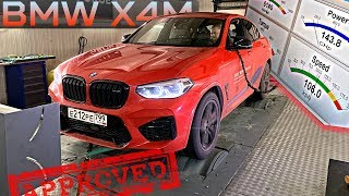 BMW X4M S58 Competition DYNO