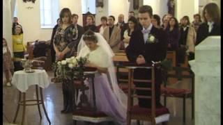 Венчание Насти и Максима. Храм св. Людовика, Москва