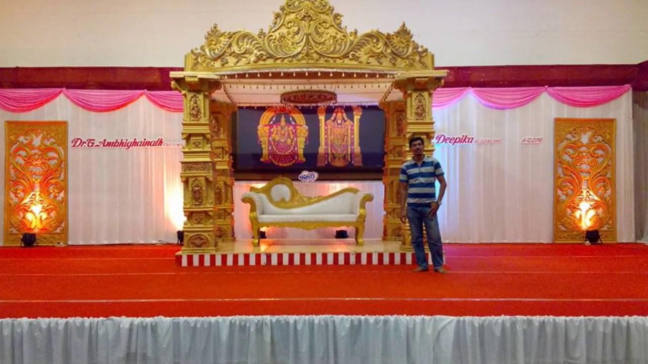 Madurai Decorators Manavarai Stage Decoration In