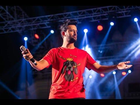 """Atif Aslam live """"Tera Hua"""" at Bollywood Park Dubai, NOV 2018."""