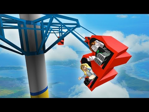 WORLDS MOST EXTREME RIDES! (Roblox Themepark Tycoon #3)