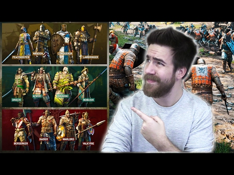 WHICH HERO SHOULD I CHOOSE!? | FOR HONOR
