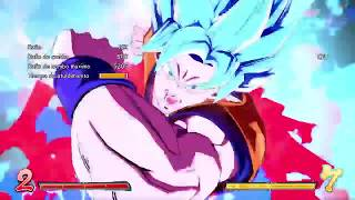 Vuelve Dragon ball fighter Z con Goku Ultra instinto dominado parte 3