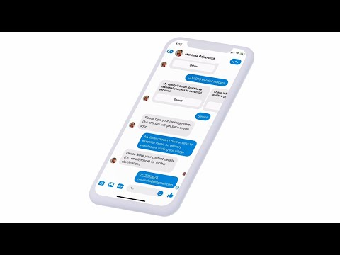 Virtual Assistant Chatbot of Sri Lankan Prime Minister powered by ShoutOUT.AI