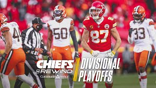 Chiefs vs. Browns Divisional Playoffs Recap | Chiefs Rewind
