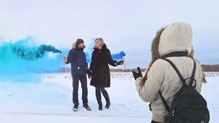 видео Фотосессия в дыму