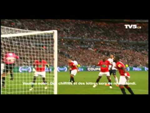 PSG LILLE 0-1 Finale Coupe de France 2011