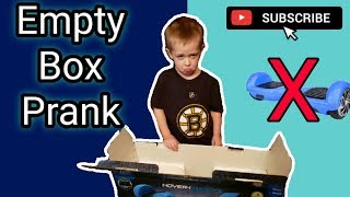 Hoverboard?! *APRIL FOOLS* / Empty Box Prank!