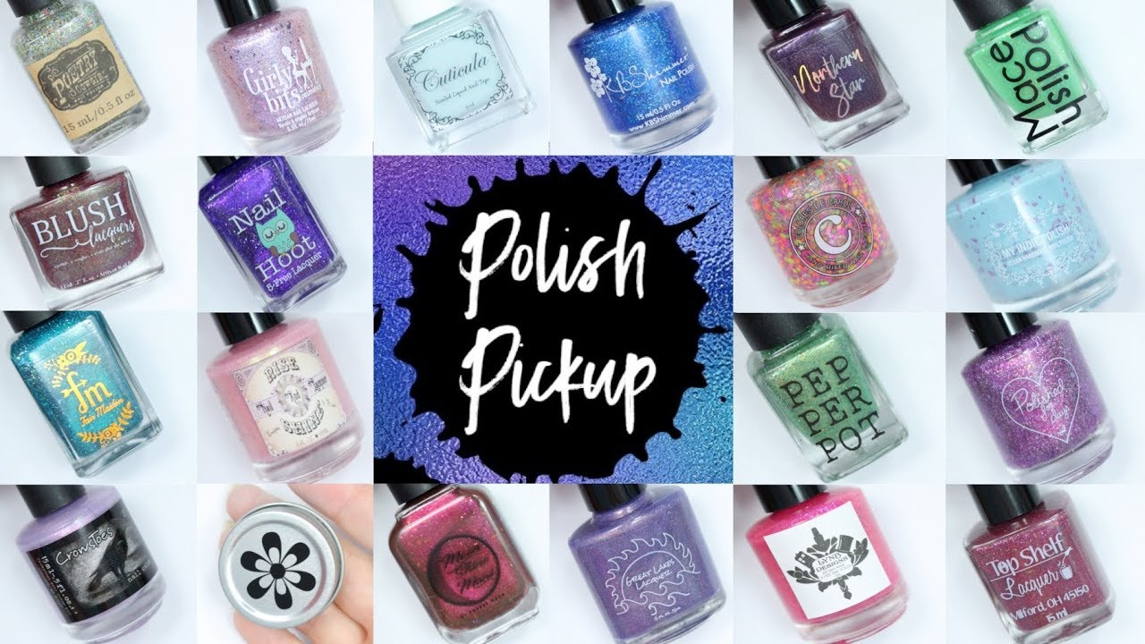 February 2018 Polish Pickup PREVIEW ~ Review and Live Swatches ...