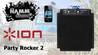 ION Party Rocker 2 Wireless Speaker System & Party Lights First Look - NAMM 2014