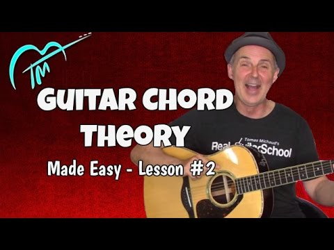 Guitar Chord Theory made Easy Triads And 7th Chords